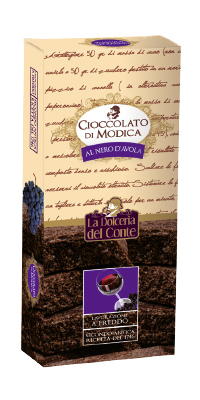 Cioccolato nero d'avola